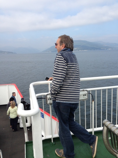 Bongo Man on the Dunoon Ferry