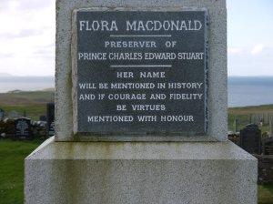 Flore Macdonald's grave