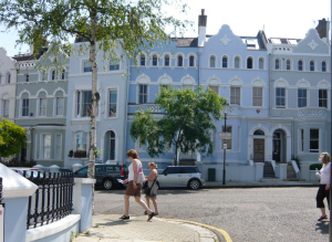 Notting Hill setting for TALL, DARK AND KILTED