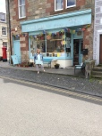The shop front used in the opening scenes of Outlander