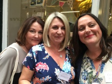 KatBlack, Cathy Bramley and Rachel Lucas