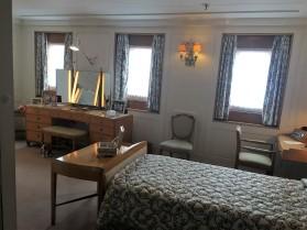 HM the Queen's bedroom