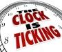 The Clock's Ticking…