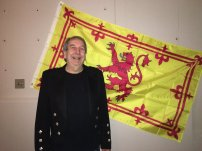 Bratach rìoghail na h-Alba, Scots: Ryal banner o Scotland) or Banner of the King of Scots,