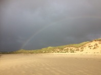 Rainbow over Dunnet Bay
