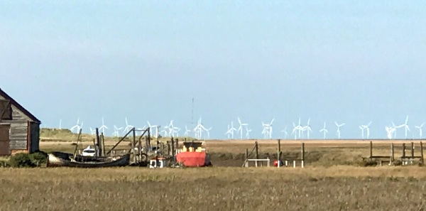 windmills on the fens