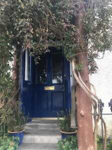 The front door to Heron Croft